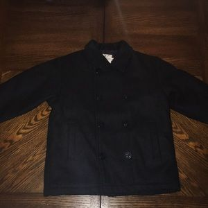 Calvin Klein Little Boys Wool Pea Coat